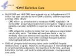ndms definitive care