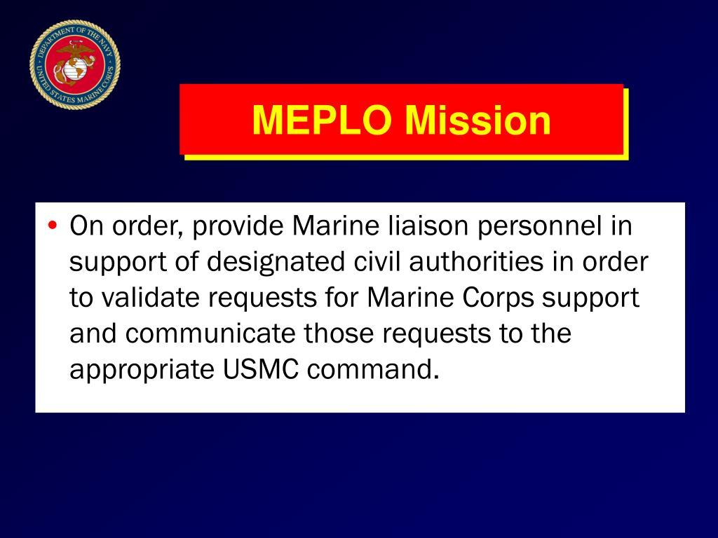 MEPLO Mission