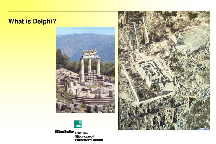 What is delphi