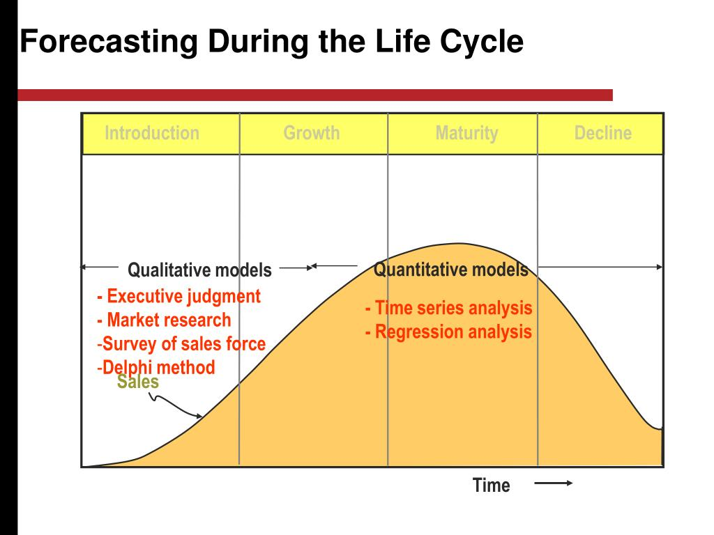 Forecasting During the Life Cycle