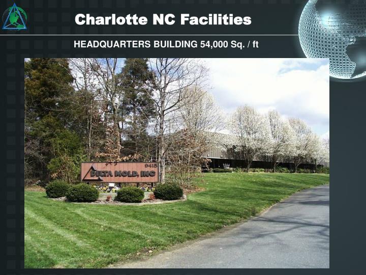 Charlotte NC Facilities