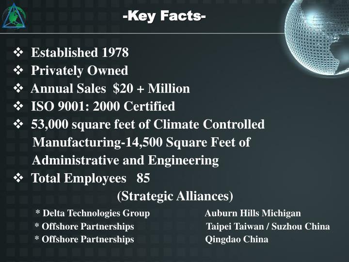 -Key Facts-