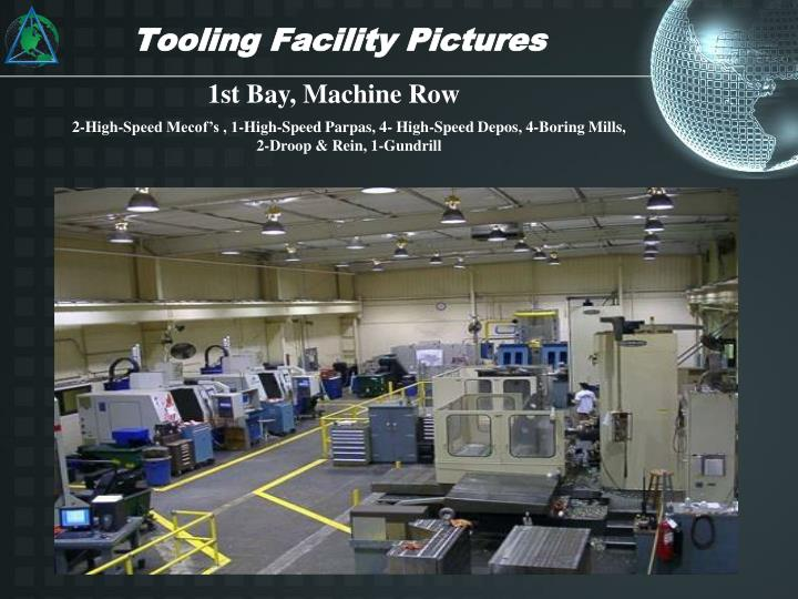 Tooling Facility Pictures