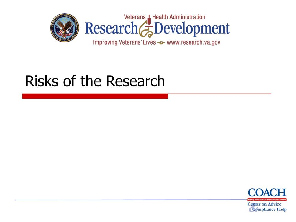 Risks of the Research