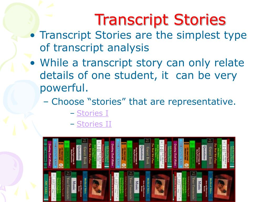 Transcript Stories