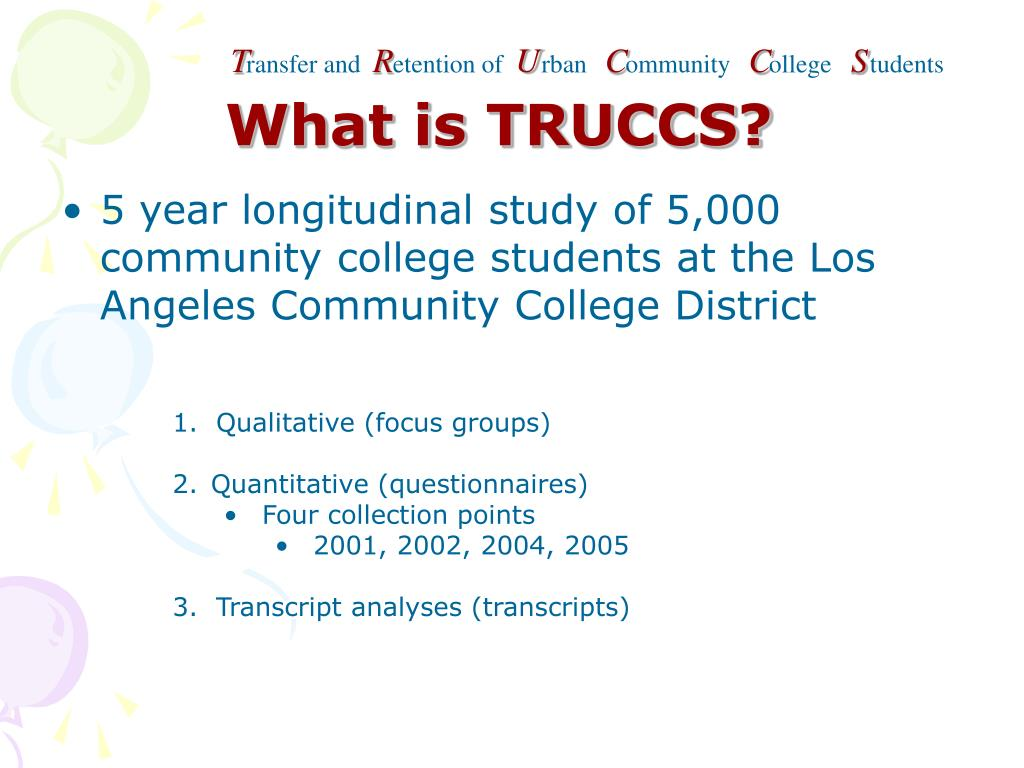 What is TRUCCS?