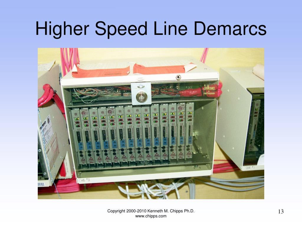 Higher Speed Line