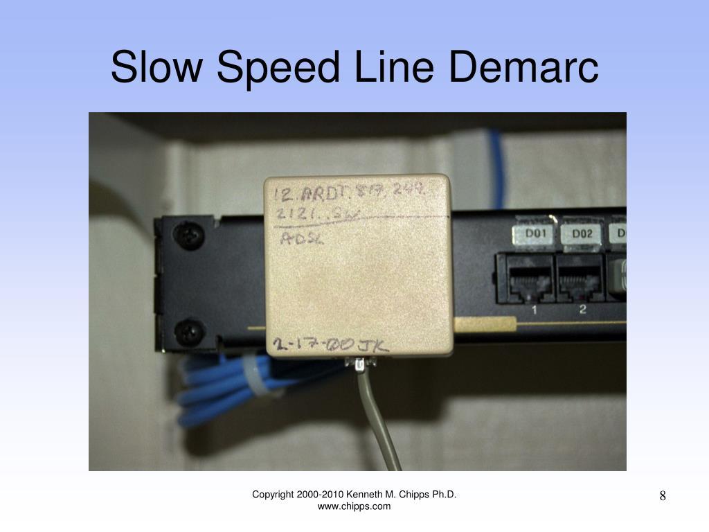 Slow Speed Line