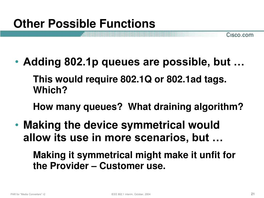 Other Possible Functions