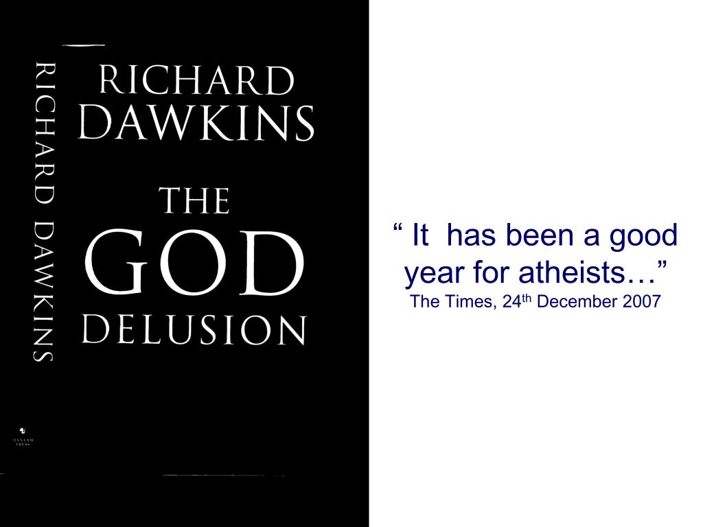 """ It  has been a good year for atheists…"""