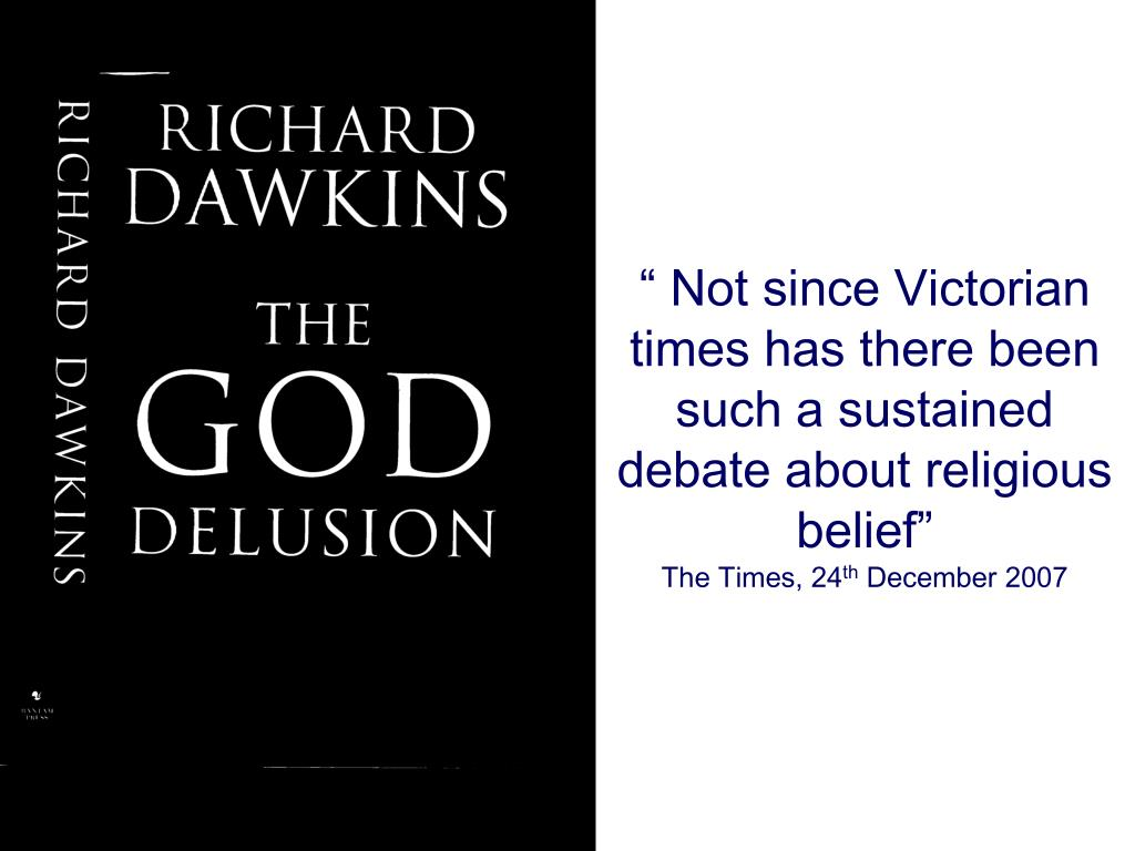 """ Not since Victorian times has there been such a sustained debate about religious belief"""