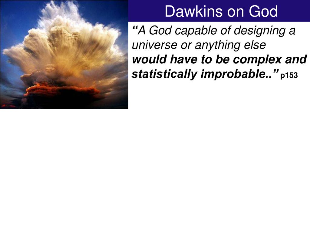 Dawkins on God