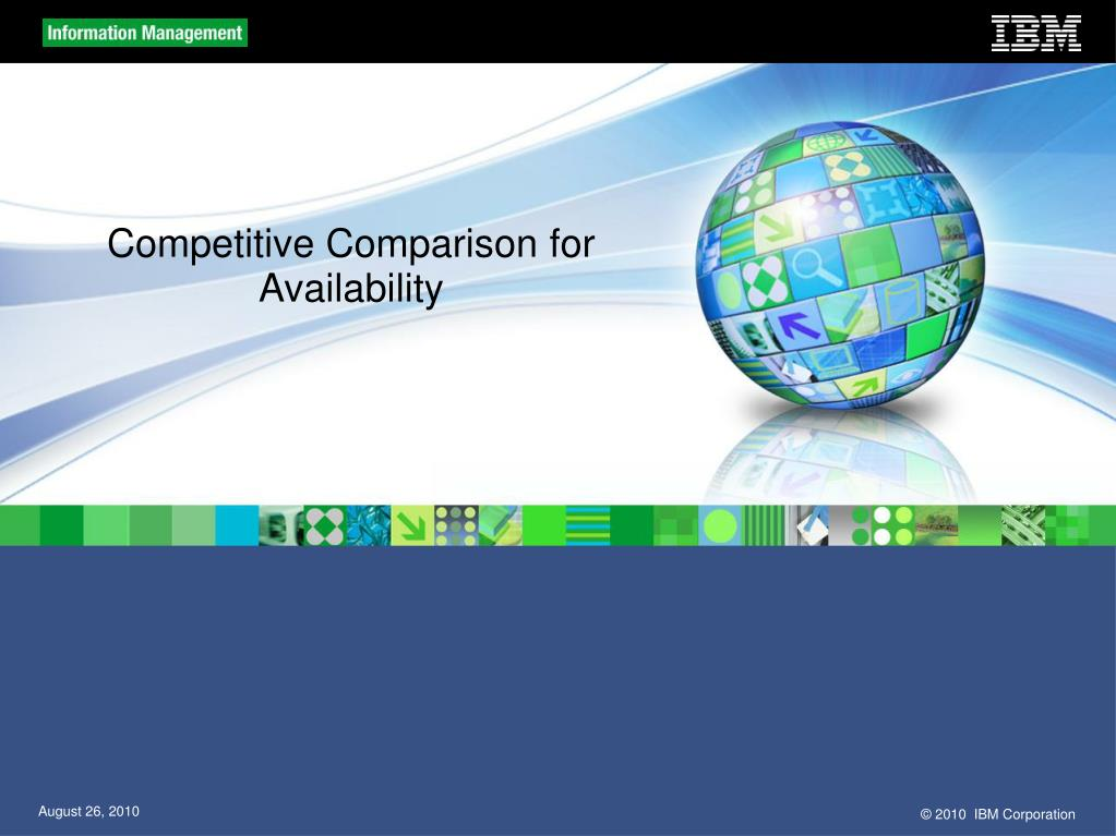 Competitive Comparison for Availability