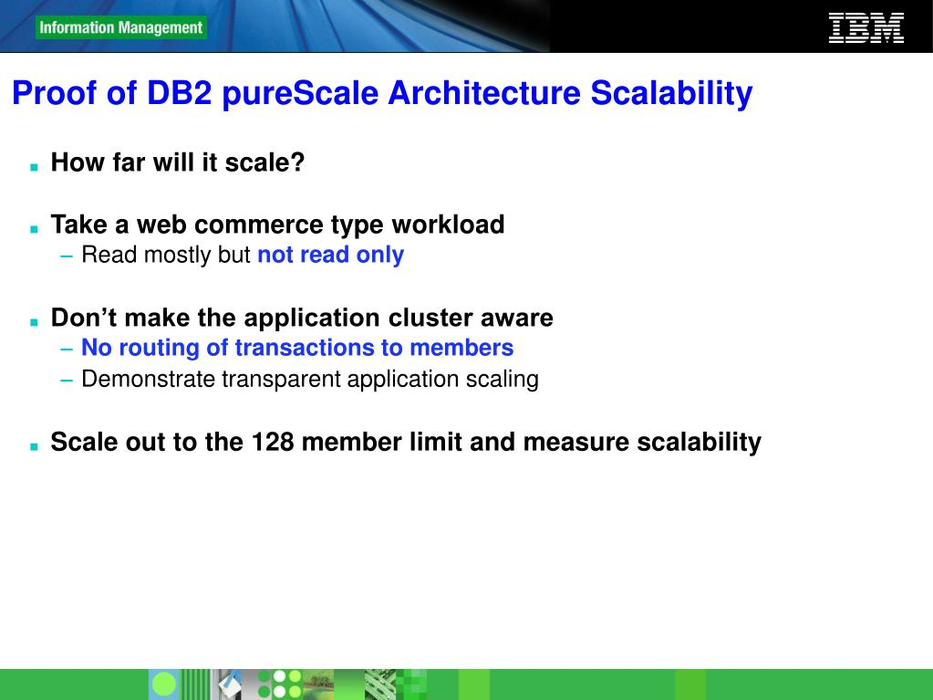 Proof of DB2 pureScale Architecture Scalability
