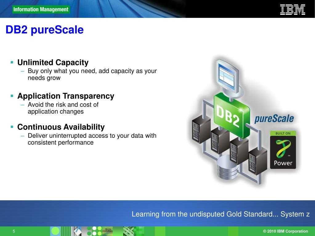 DB2 pureScale