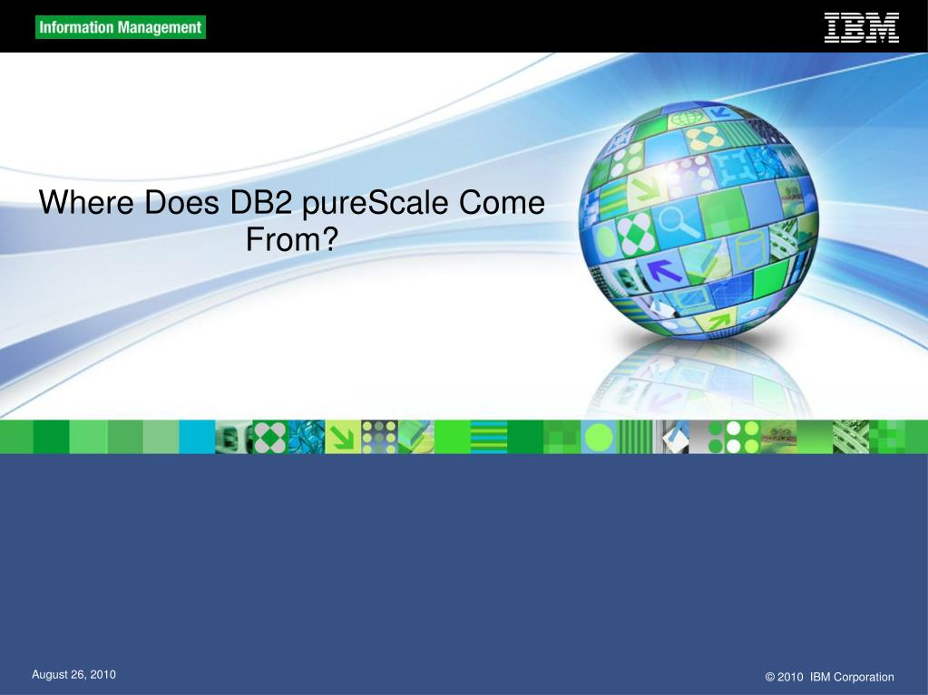 Where Does DB2 pureScale Come From?