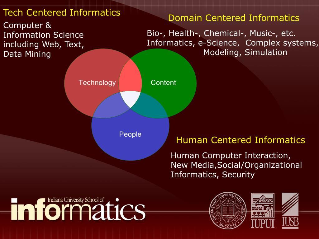Tech Centered Informatics