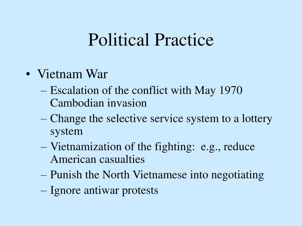 Political Practice