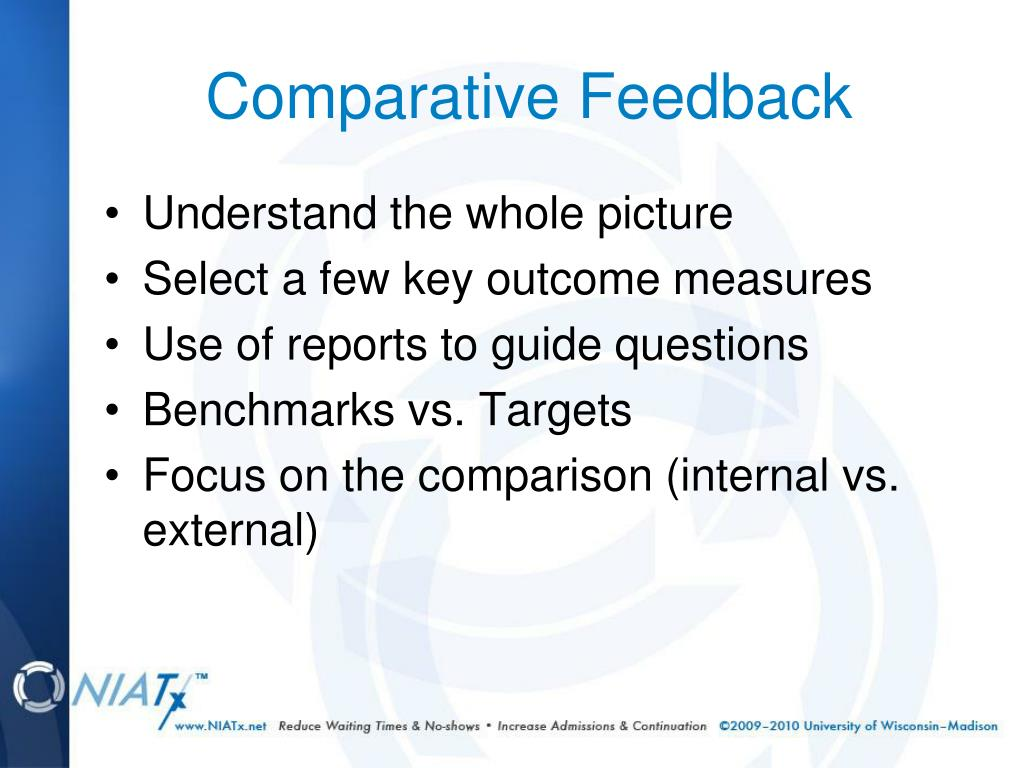 Comparative Feedback