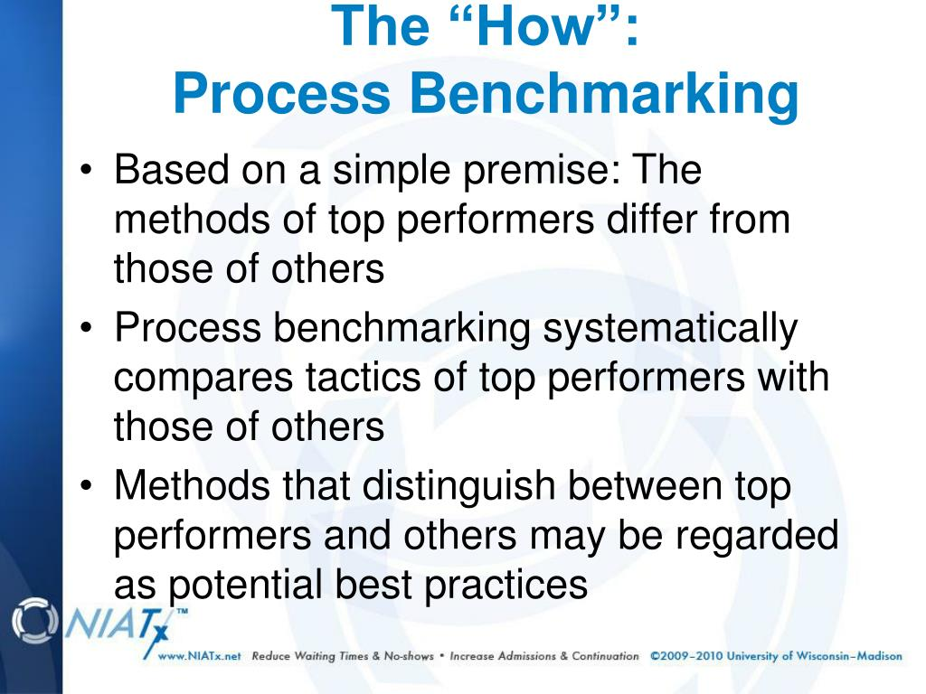 Based on a simple premise: The methods of top performers differ from those of others