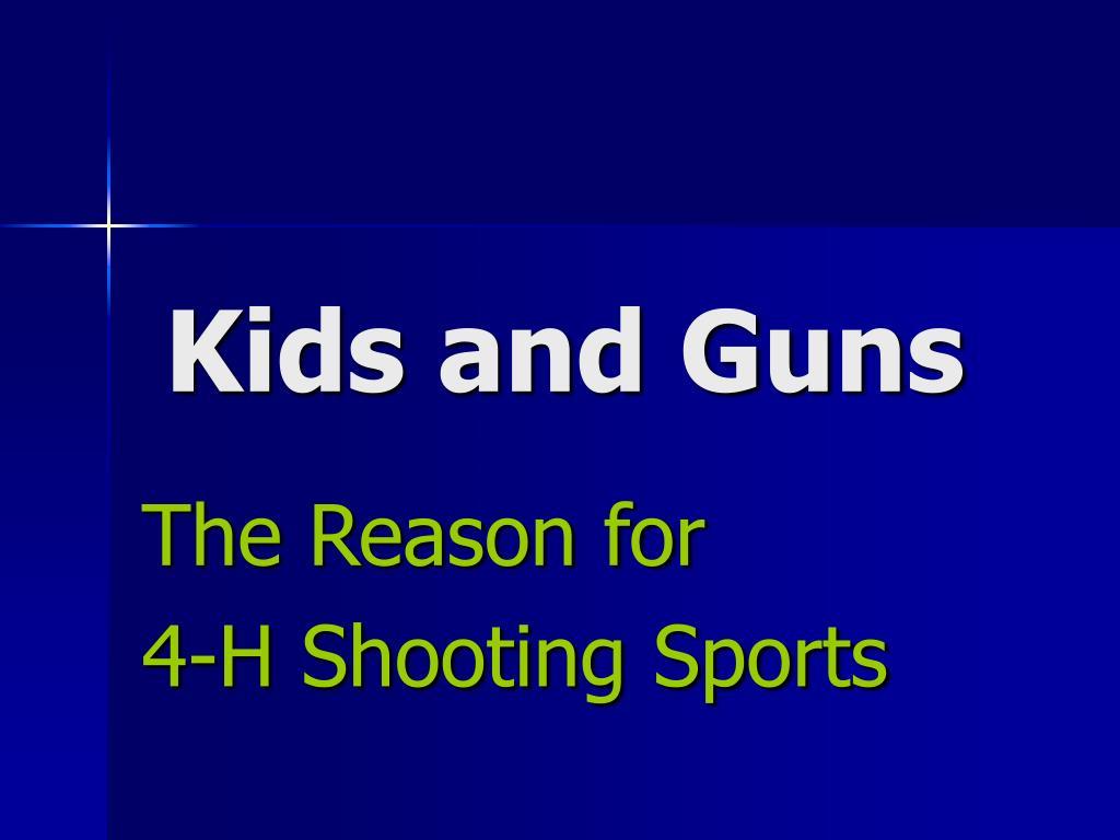 kids and guns l.