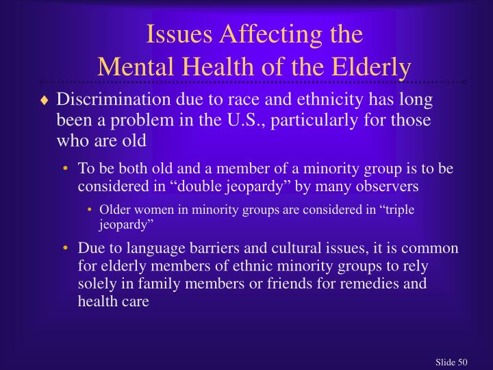 Issues Affecting the