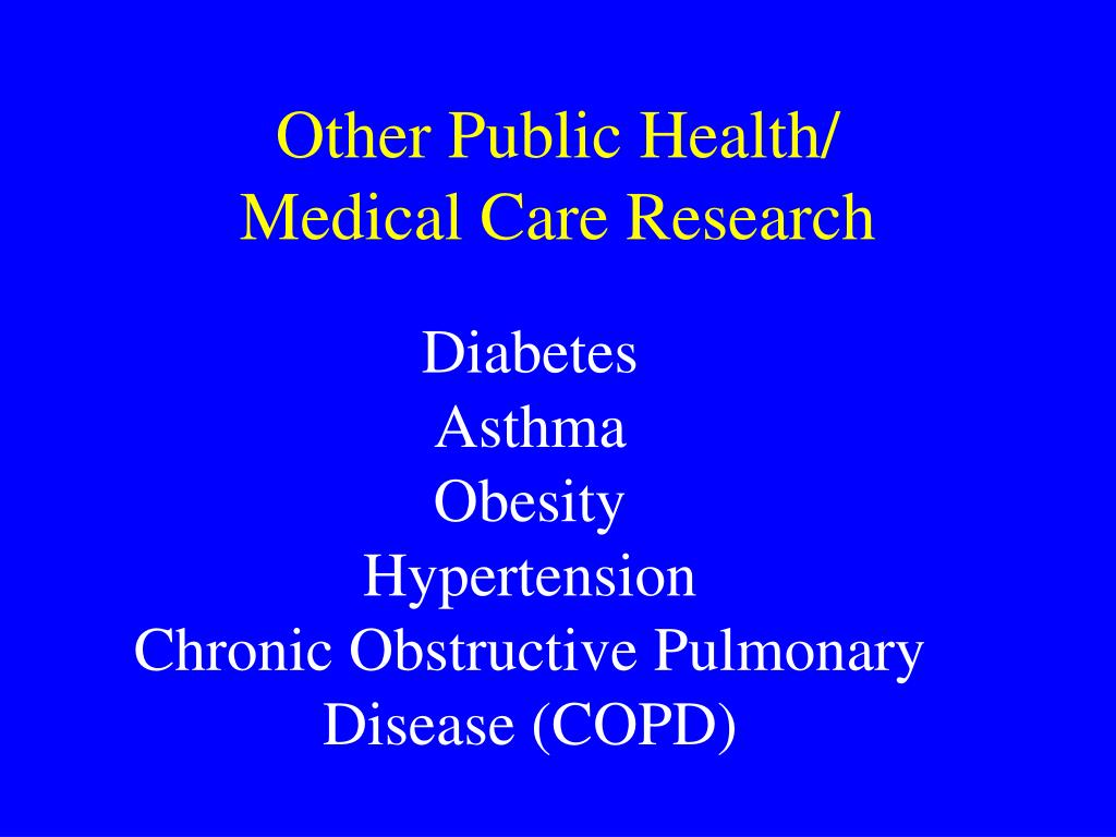 Other Public Health/