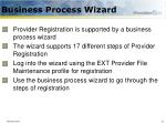 business process wizard