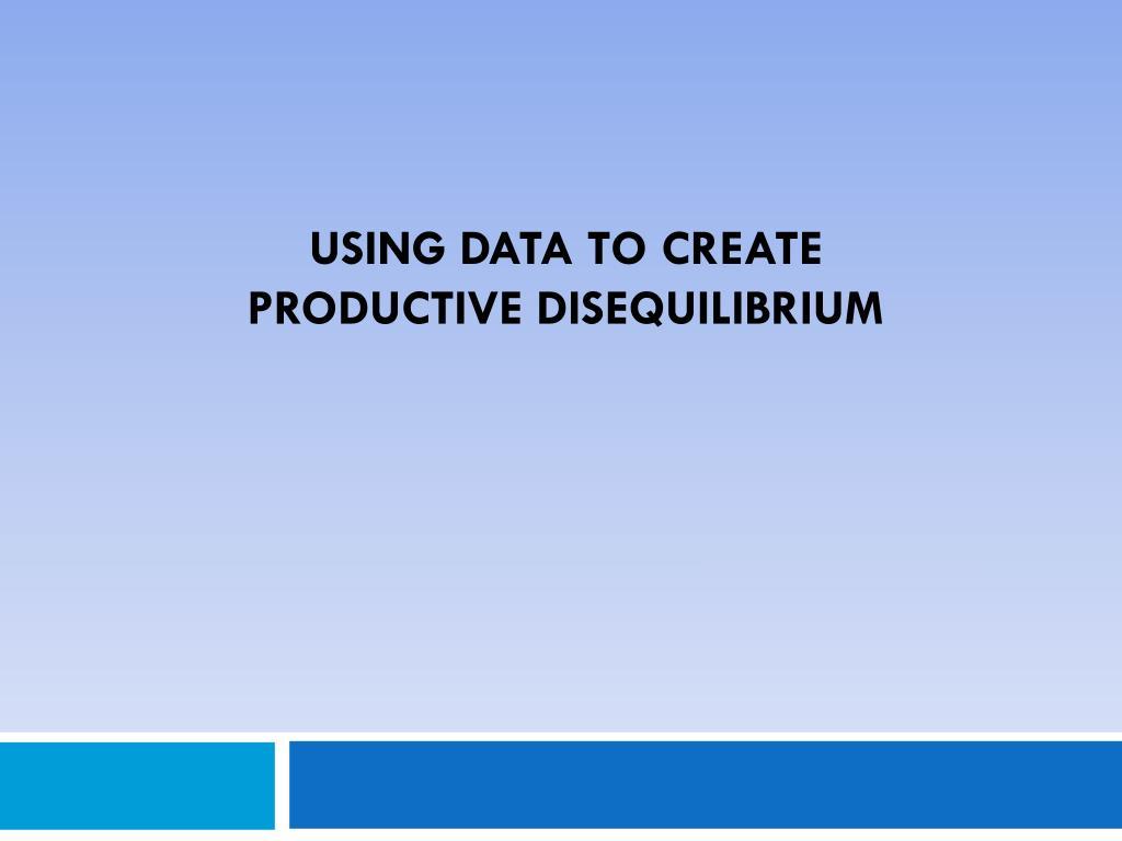 Using Data to Create