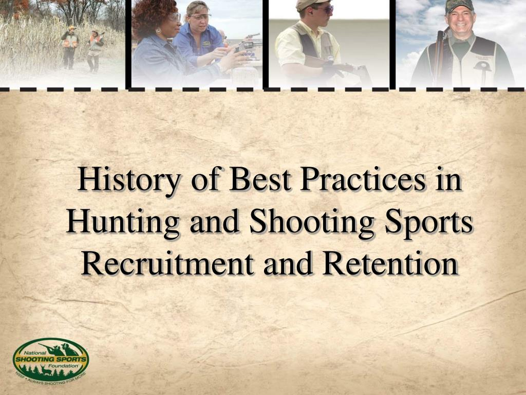 History of Best Practices in