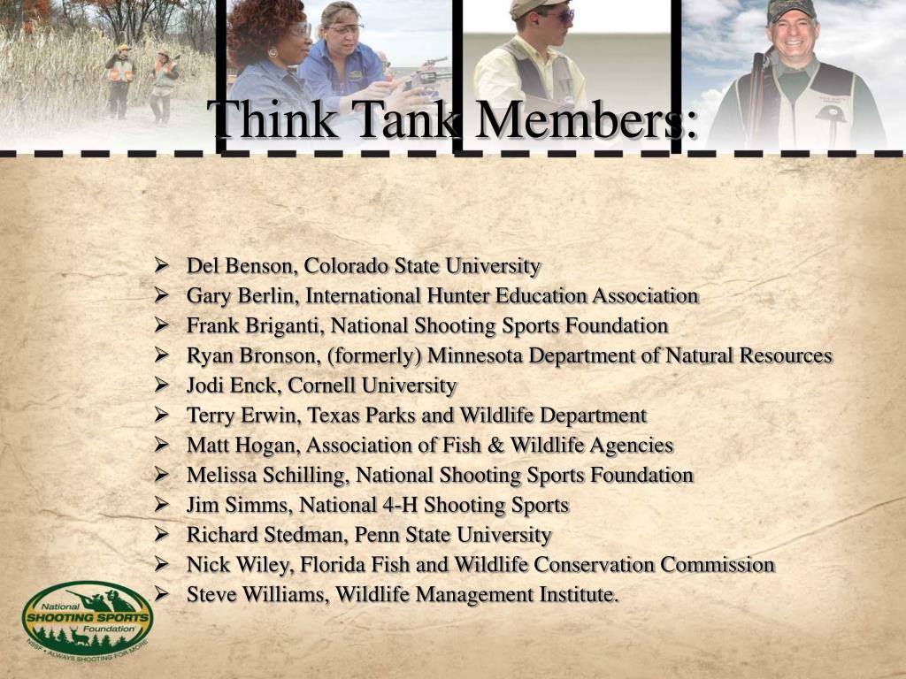 Think Tank Members: