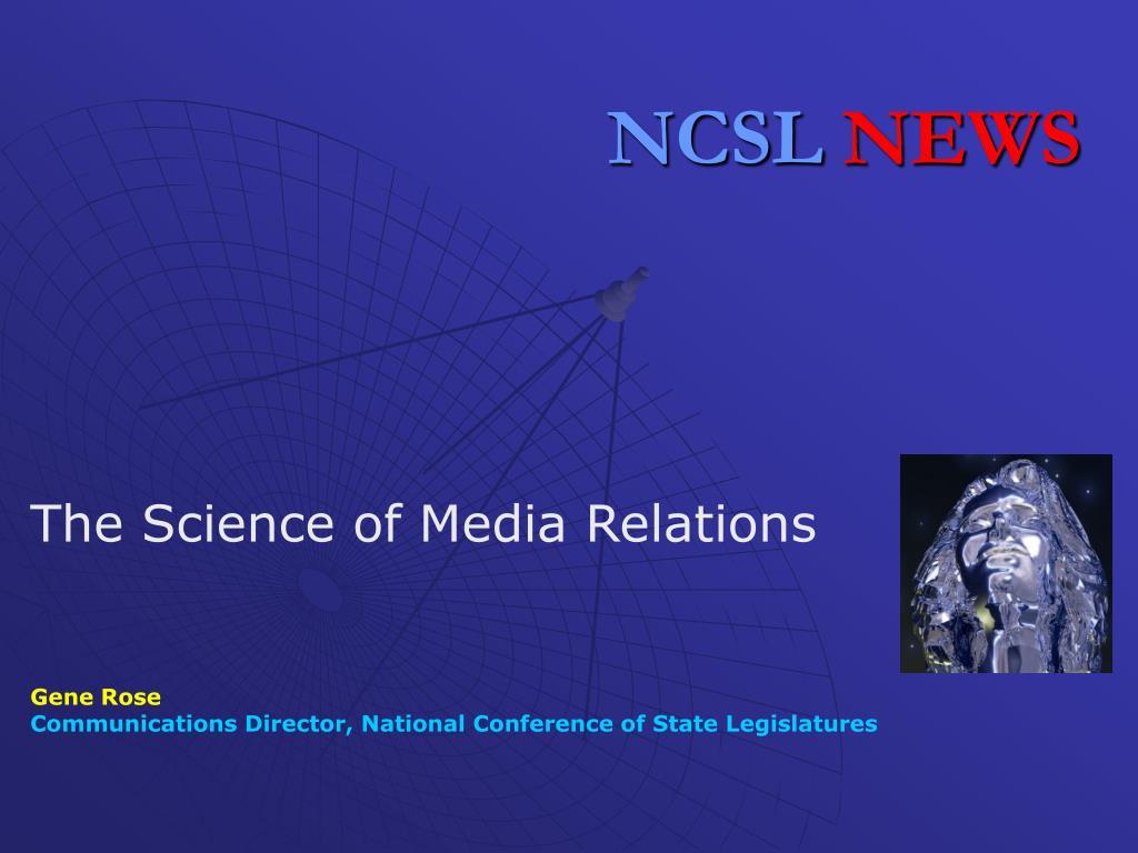 ncsl news