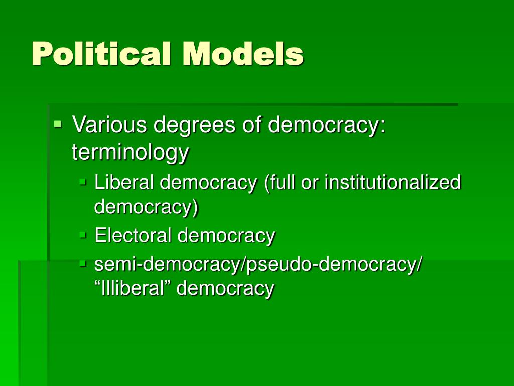 Political Models