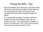 fitting the rifle tips22