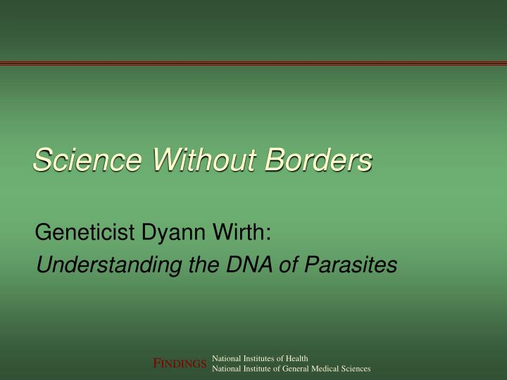science without borders n.