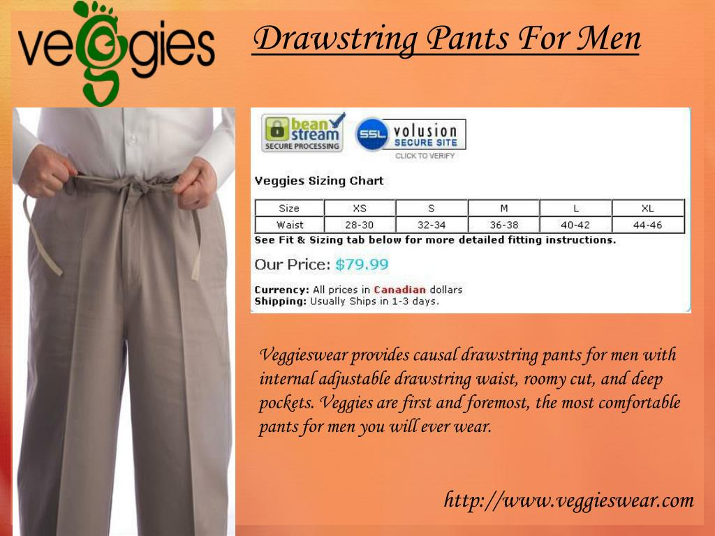 Drawstring Pants For Men