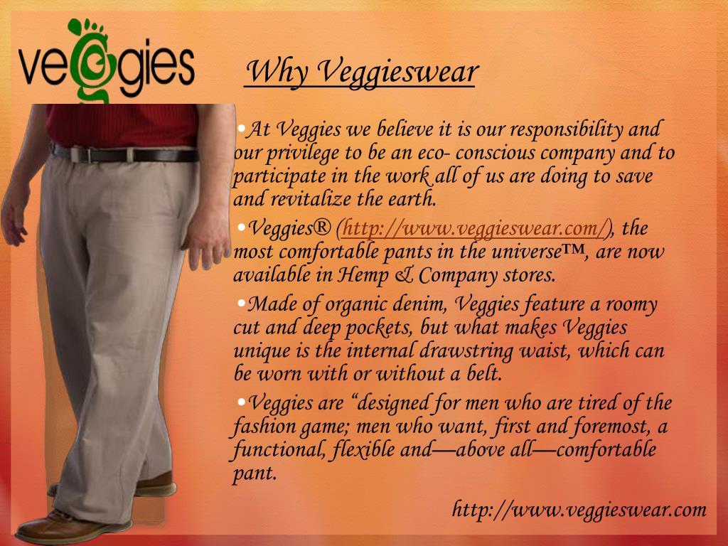 Why Veggieswear