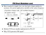 fm direct modulator cont