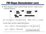 fm slope demodulator cont