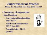 improvement in practice maury am j resp crit care med 2000 162 324