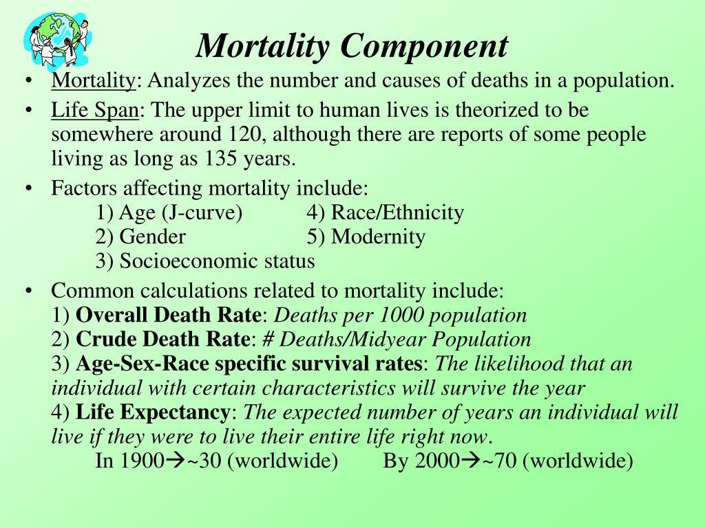 Mortality Component