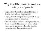 why it will be harder to continue this type of growth