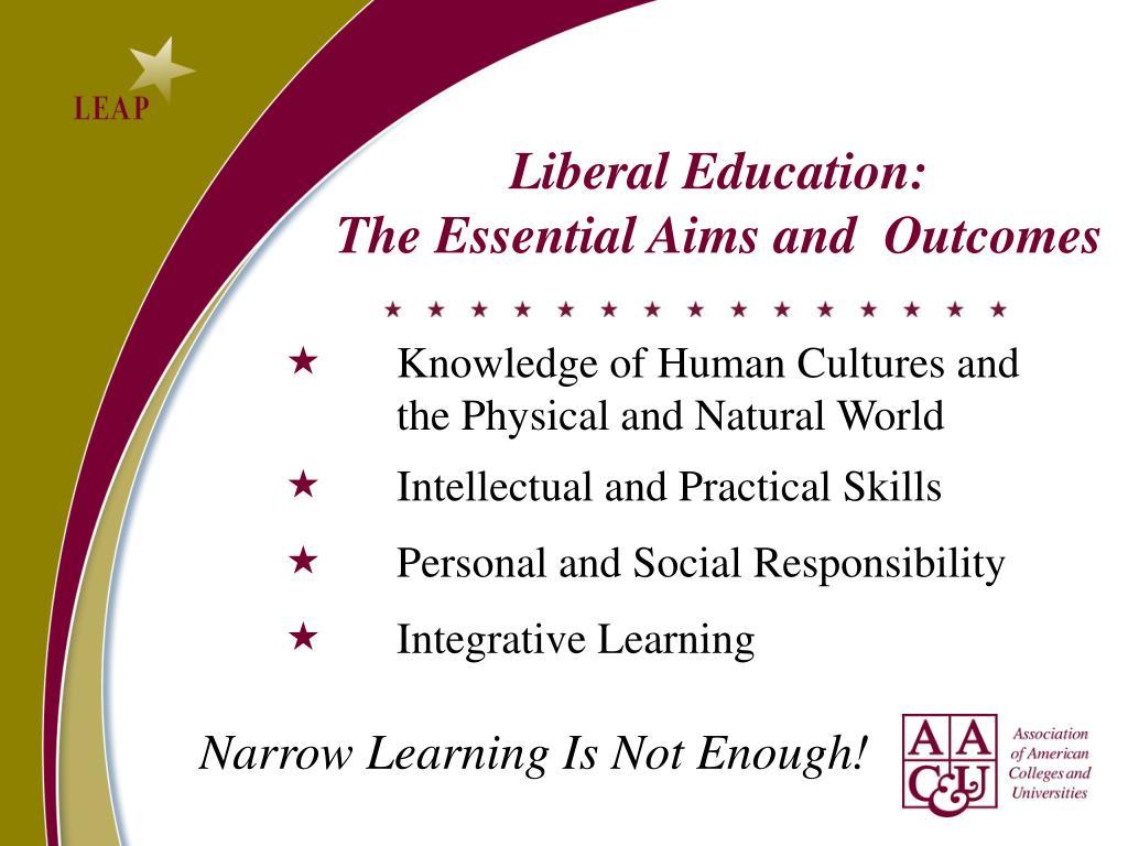 Liberal Education: