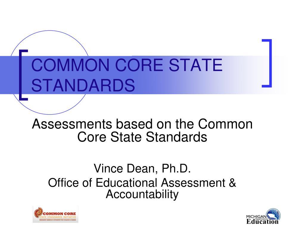 common core state standards l.