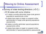 moving to online assessment35
