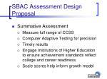 sbac assessment design proposal19