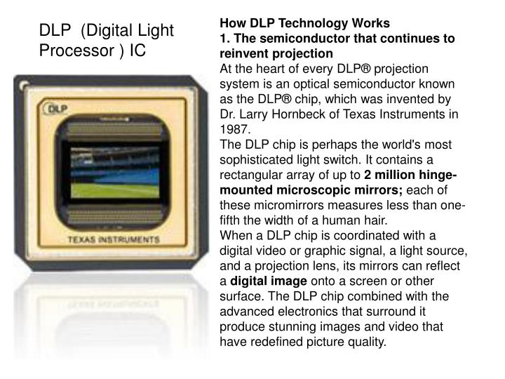 How DLP Technology Works