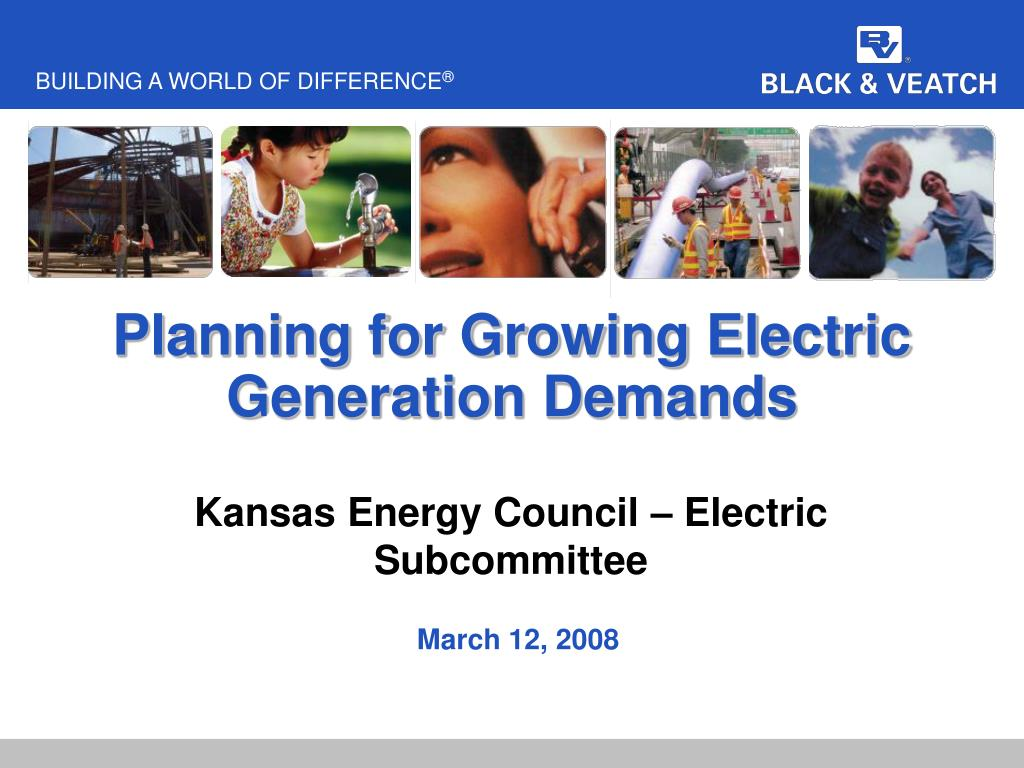 Planning for Growing Electric Generation Demands