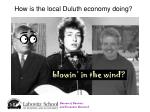 how is the local duluth economy doing