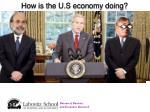 how is the u s economy doing5